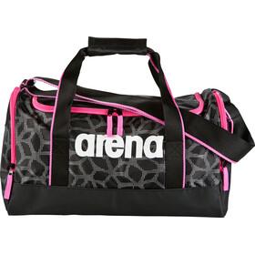 arena Spiky 2 Medium Sports Bag 32l black x-pivot-fuchsia